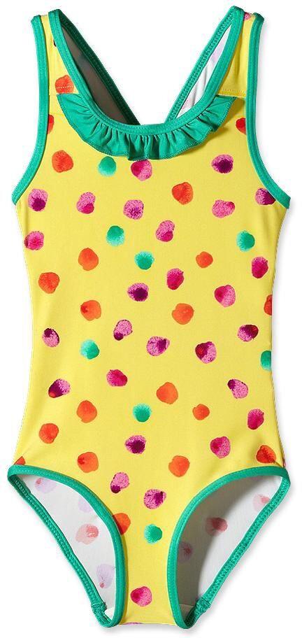 Patagonia Baby QT Swimsuit Fingerpaint Dots: Dots: Dots: Pineapple (766) 61b7e0
